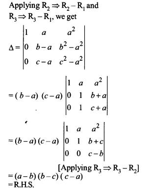 NCERT Solutions for Class 12 Maths Chapter 4 Determinants Ex 4.2 Q8.1