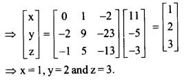 NCERT Solutions for Class 12 Maths Chapter 4 Determinants Ex 4.6 Q15.2