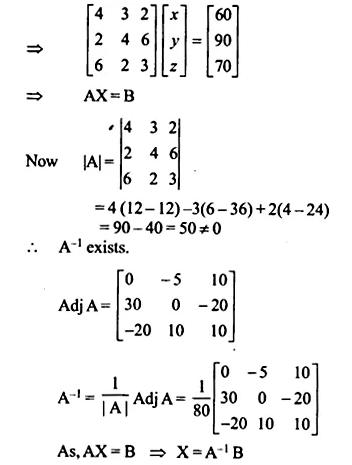 NCERT Solutions for Class 12 Maths Chapter 4 Determinants Ex 4.6 Q16.1