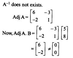 NCERT Solutions for Class 12 Maths Chapter 4 Determinants Ex 4.6 Q3.1