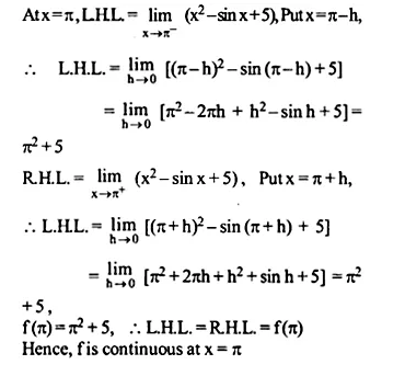 NCERT Solutions for Class 12 Maths Chapter 5 Continuity and Differentiability Ex 5.1 Q20.1
