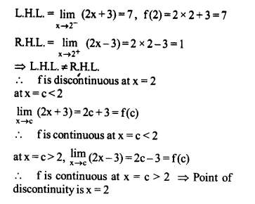 NCERT Solutions for Class 12 Maths Chapter 5 Continuity and Differentiability Ex 5.1 Q6.1