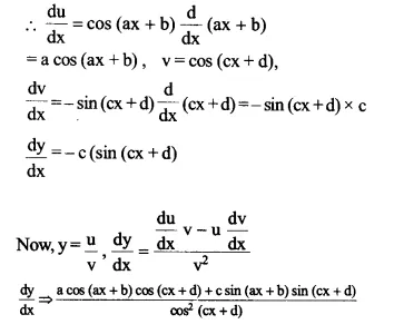 NCERT Solutions for Class 12 Maths Chapter 5 Continuity and Differentiability Ex 5.2 Q5.1