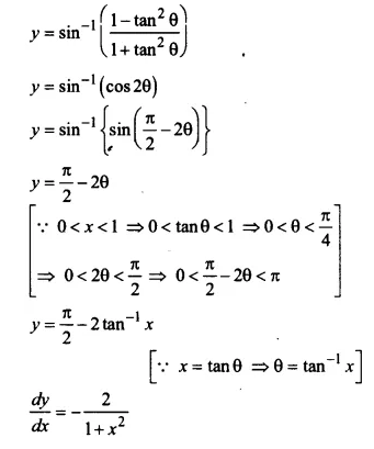 NCERT Solutions for Class 12 Maths Chapter 5 Continuity and Differentiability Ex 5.3 Q12.1
