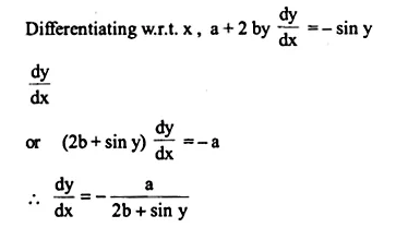 NCERT Solutions for Class 12 Maths Chapter 5 Continuity and Differentiability Ex 5.3 Q3.1