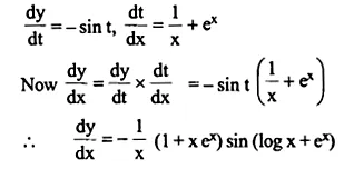 NCERT Solutions for Class 12 Maths Chapter 5 Continuity and Differentiability Ex 5.4 Q10.1
