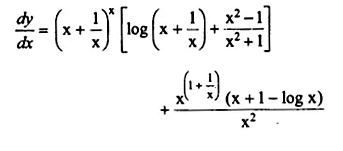 NCERT Solutions for Class 12 Maths Chapter 5 Continuity and Differentiability Ex 5.5 Q6.3