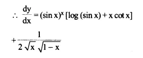 NCERT Solutions for Class 12 Maths Chapter 5 Continuity and Differentiability Ex 5.5 Q8.2