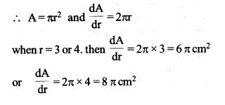 NCERT Solutions for Class 12 Maths Chapter 6 Application of Derivatives Ex 6.1 Q1.1