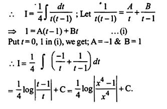 NCERT Solutions for Class 12 Maths Chapter 7 Integrals Ex 7.5 Q20.1
