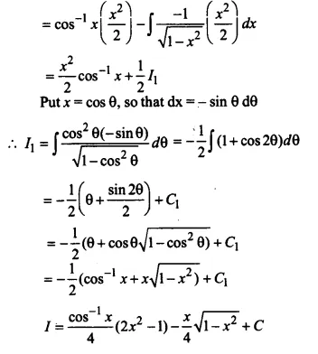 NCERT Solutions for Class 12 Maths Chapter 7 Integrals Ex 7.6 Q9.1