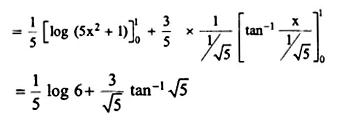 NCERT Solutions for Class 12 Maths Chapter 7 Integrals Ex 7.9 Q14.1
