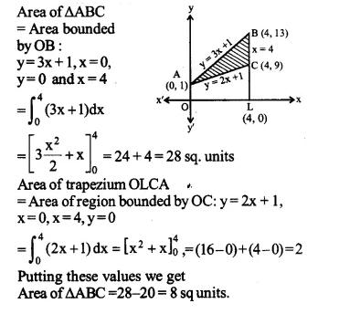 NCERT Solutions for Class 12 Maths Chapter 8 Application of Integrals Ex 8.2 Q5.1