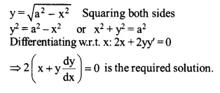 NCERT Solutions for Class 12 Maths Chapter 9 Differential Equations Ex 9.2 Q10.1