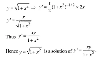 NCERT Solutions for Class 12 Maths Chapter 9 Differential Equations Ex 9.2 Q4.1