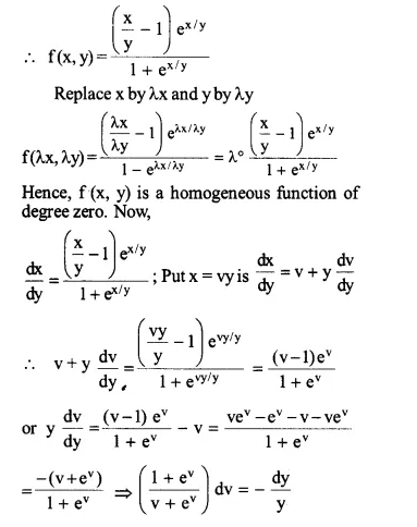 NCERT Solutions for Class 12 Maths Chapter 9 Differential Equations Ex 9.5 Q10.1