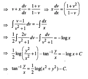 NCERT Solutions for Class 12 Maths Chapter 9 Differential Equations Ex 9.5 Q3.1