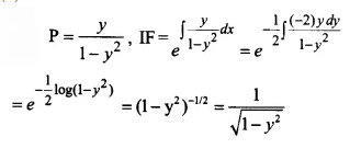 NCERT Solutions for Class 12 Maths Chapter 9 Differential Equations Ex 9.6 Q19.1
