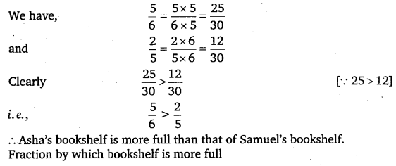 NCERT Solutions for Class 6 Maths Chapter 7 Fractions 90