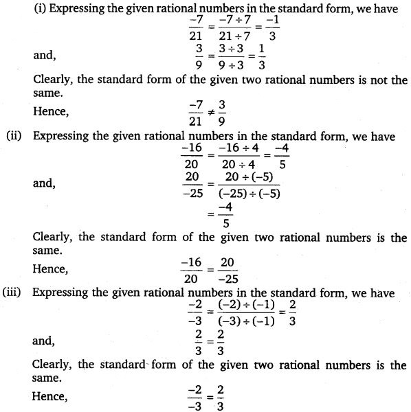 NCERT Solutions for Class 7 Maths Chapter 9 Rational Numbers 14