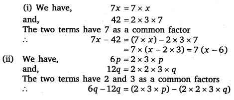 NCERT Solutions for Class 8 Maths Chapter 14 Factorisation 1