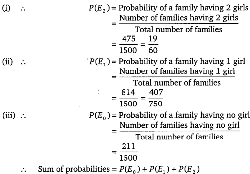 NCERT Solutions for Class 9 Maths Chapter 15 Probability 1