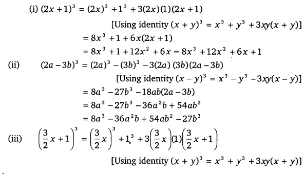 NCERT Solutions for Class 9 Maths Chapter 2 Polynomials Ex 2.5.5