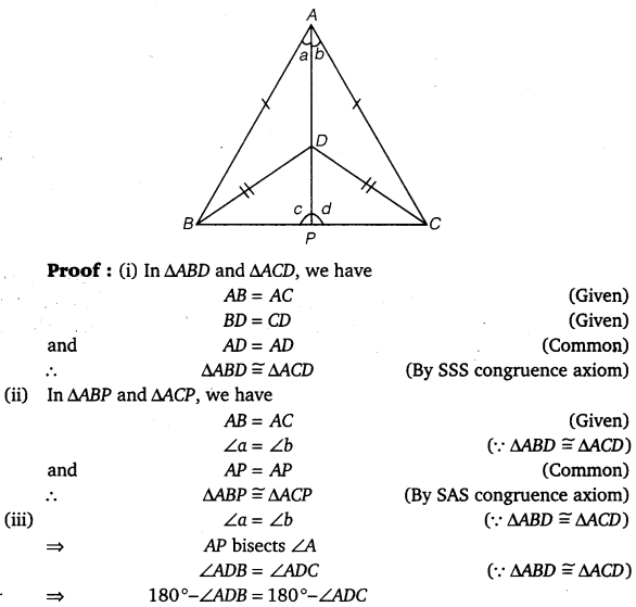 NCERT Solutions for Class 9 Maths Chapter 7 Triangles Ex 7.3.2