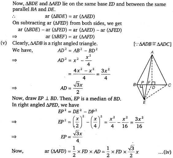 NCERT Solutions for Class 9 Maths Chapter 9 Areas of Parallelograms and Triangles Ex 9.4.11