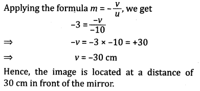 NCERT Solutions for Class 10 Science Chapter 10 Light Reflection and Refraction 1