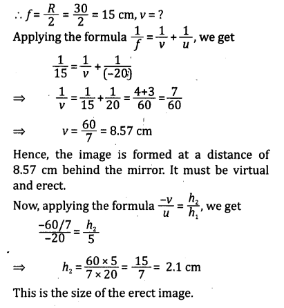 NCERT Solutions for Class 10 Science Chapter 10 Light Reflection and Refraction 11