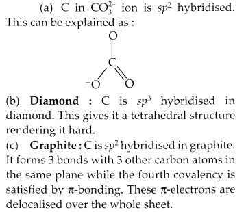 NCERT Solutions for Class 11 Chemistry Chapter 11 The p Block Elements 11
