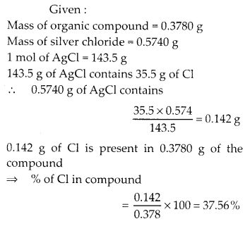 NCERT Solutions for Class 11 Chemistry Chapter 12 Organic Chemistry Some Basic Principles and Techniques 54