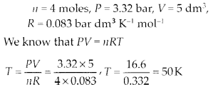NCERT Solutions for Class 11 Chemistry Chapter 5 States of Matter 12