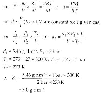 NCERT Solutions for Class 11 Chemistry Chapter 5 States of Matter 9