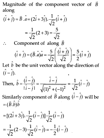 NCERT Solutions for Class 11 Physics Chapter 4 Motion in a Plane 28