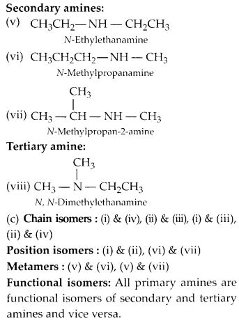 NCERT Solutions for Class 12 Chemistry Chapter 13 Amines 3