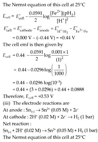 NCERT Solutions for Class 12 Chemistry Chapter 3 Electrochemistry 20