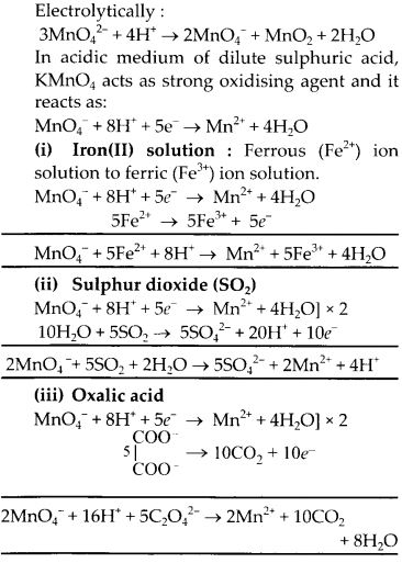 NCERT Solutions for Class 12 Chemistry Chapter 8 d-and f-Block Elements 4