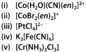 NCERT Solutions for Class 12 Chemistry Chapter 9 Coordination Compounds 13