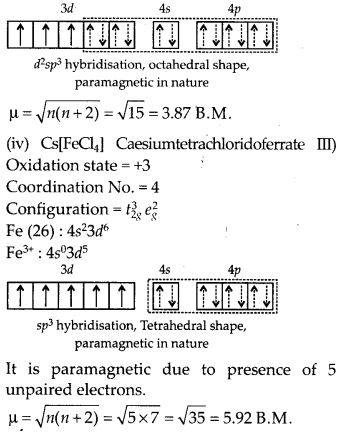 NCERT Solutions for Class 12 Chemistry Chapter 9 Coordination Compounds 42