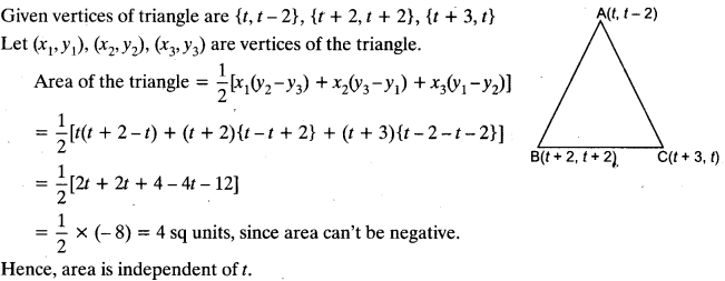 Coordinate Geometry Class 10 Maths CBSE Important Questions With Solutions 12