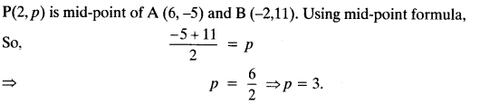 Coordinate Geometry Class 10 Maths CBSE Important Questions With Solutions 127
