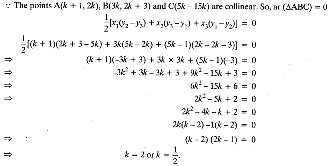 Coordinate Geometry Class 10 Maths CBSE Important Questions With Solutions 39