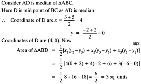 Coordinate Geometry Class 10 Maths CBSE Important Questions With Solutions 81
