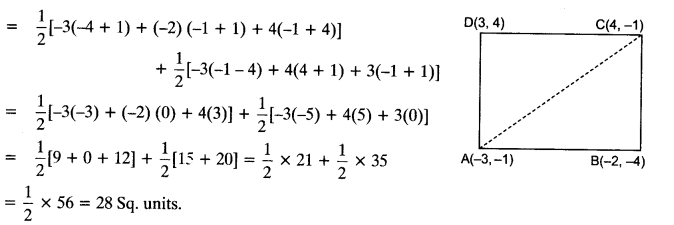 Coordinate Geometry Class 10 Maths CBSE Important Questions With Solutions 98