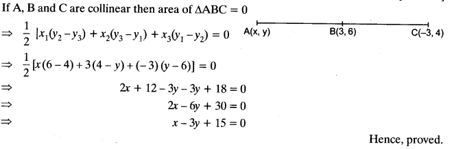 Coordinate Geometry Class 10 Maths CBSE Important Questions With Solutions 99