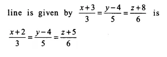NCERT Solutions for Class 12 Maths Chapter 11 Three Dimensional Geometry Ex 11.2 Q6.1