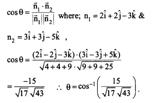 NCERT Solutions for Class 12 Maths Chapter 11 Three Dimensional Geometry Ex 11.3 Q12.1