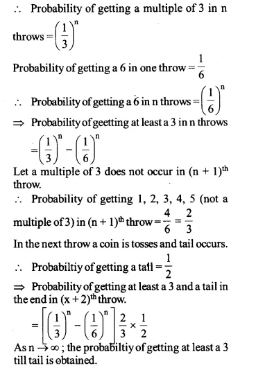 NCERT Solutions for Class 12 Maths Chapter 13 Probability Ex 13.1 Q15.1